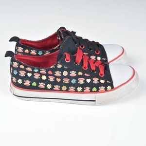 Paul Frank black and red running shoes